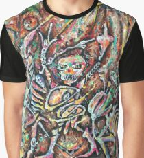 Robotic Riot from Beauty and Hypocrites/Feeding with Fear painting Graphic T-Shirt