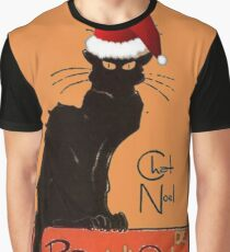 Le Chat Noel Graphic T-Shirt
