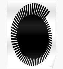 black brush Poster