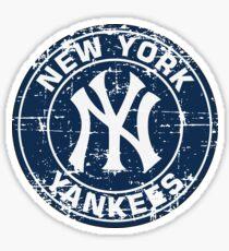 New York Yankees Baseball Club-Distressed Sticker