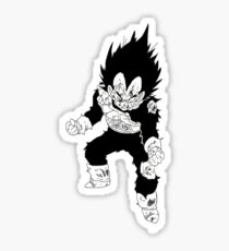 Vegeta Injured - Dragonball Z Sticker