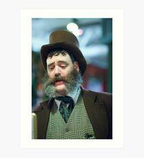 Dickens Fair Mutton Chops Art Print