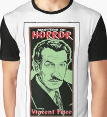 VINCENT PRICE-MASTER OF HORROR Graphic T-Shirt
