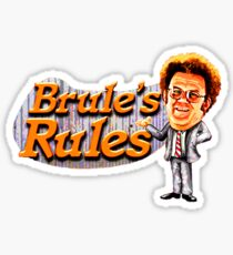 brules rules Sticker