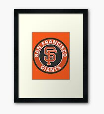 San Francisco Giants Baseball Club MLB Framed Print