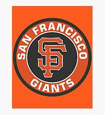 San Francisco Giants Baseball Club MLB Photographic Print