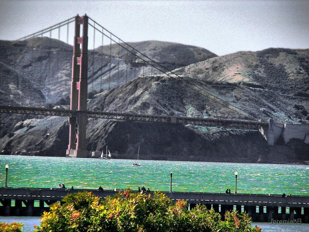 Golden Gate from peir 39 by JeremiahB