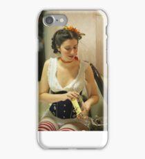 Dickens Fair Corset Model iPhone Case/Skin