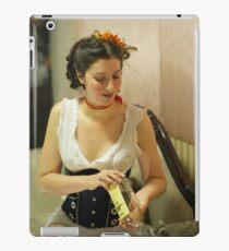 Dickens Fair Corset Model iPad Case/Skin