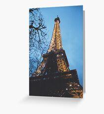 La Tour de Eiffel Greeting Card