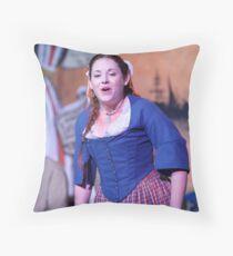 Dickens Fair Sing Along Throw Pillow