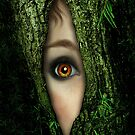 Golden Eye in a green Tree von Britta Glodde