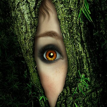 Golden Eye in a green Tree by BrittaGlodde
