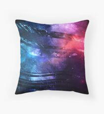 Cosmic Flow Throw Pillow