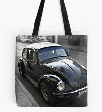 Black VW Bug  - Side View Tote Bag