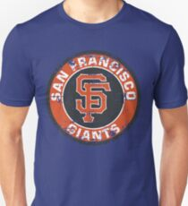 San Francisco Giants Baseball Club MLB-Distressed T-Shirt