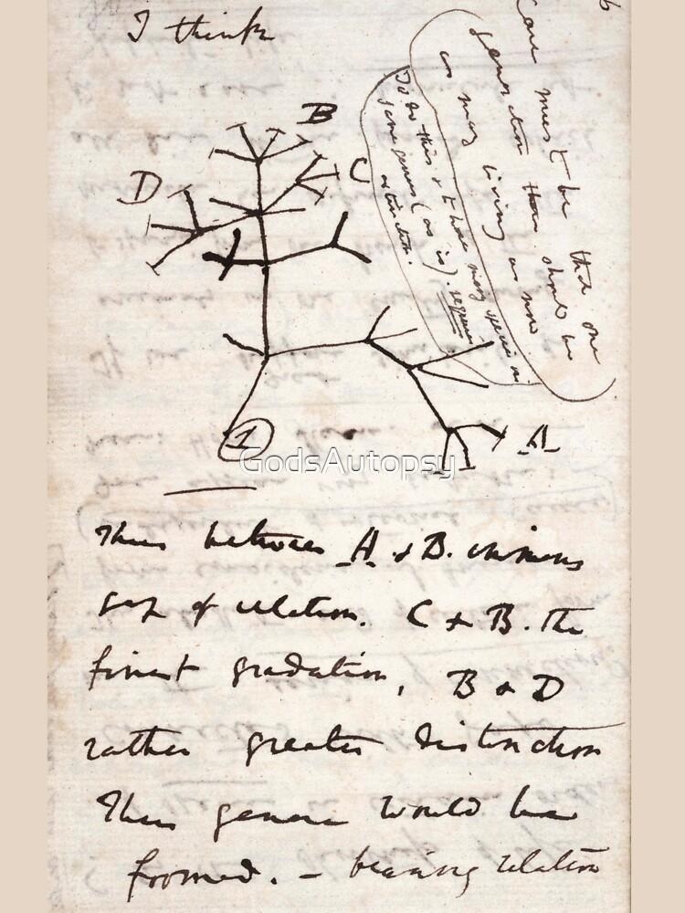 Ich denke - Charles Darwin 1 von GodsAutopsy