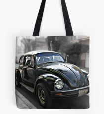 Black VW Bug  - Side View 2 Tote Bag