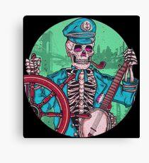 Captain Dead Canvas Print