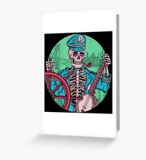 Captain Dead Greeting Card