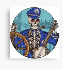Captain Dead Canvas Print