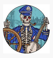 Captain Dead Photographic Print