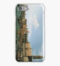 Return of 'Il Bucintoro' on Ascension Day 1745 - 1750 Canaletto iPhone Case/Skin
