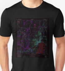 USGS TOPO Map Florida FL Kissimmee 346947 1953 24000 Inverted Unisex T-Shirt