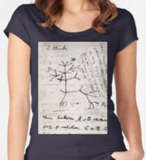 I Think - Charles Darwin 2 Women's Fitted Scoop T-Shirt