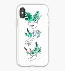 Flora y fauna iPhone Case