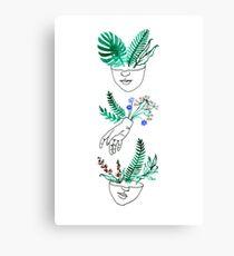 Flora und Fauna Leinwanddruck