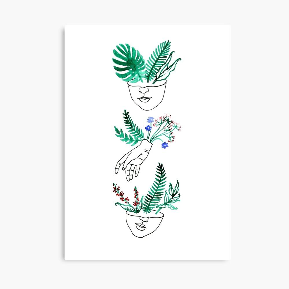 Flora y fauna Canvas Print