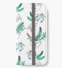 Flora und Fauna iPhone Flip-Case/Hülle/Klebefolie