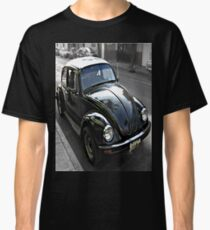 Black VW 1 Stretched Side View Classic T-Shirt