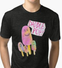 Daddle Pop | Paddle Pop - By Merrin Dorothy Tri-blend T-Shirt