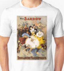 Vintage Performing Arts Poster - The Sandow Trocadero Vaudevilles (1894) Unisex T-Shirt