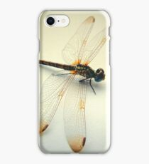 Portrait of a Dragonfly iPhone Case/Skin