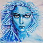 Thunder - Lady in Blue by ILoveTheQuirky