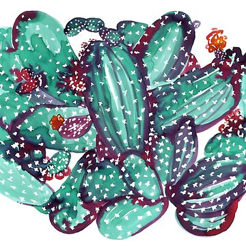 Cacti paints by amyoharris