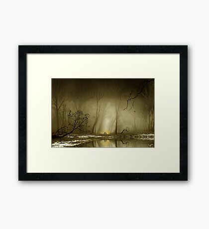 Enigmatic Passage Framed Print