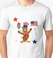 Independence Day Uncle Sam Eagle Unisex T-Shirt