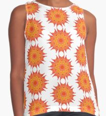 Fluid floral abstraction Contrast Tank