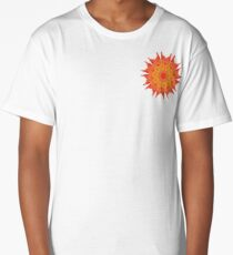 Fluid floral abstraction Long T-Shirt