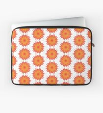 Fluid floral abstraction Laptop Sleeve