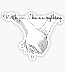 With you Sticker
