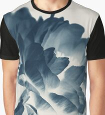 Blue Paeonia #3 Graphic T-Shirt