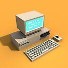 Retro Computer by Mariewsart