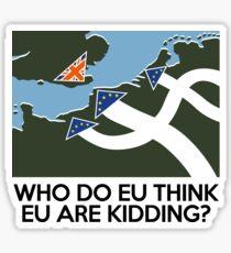 Dad's Army Brexit Sticker