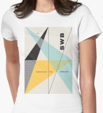 Swiss#1 Womens Fitted T-Shirt