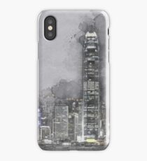 Hong Kong at Night iPhone Case/Skin